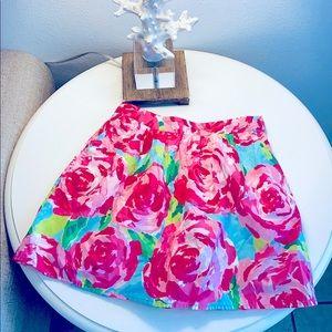 Hottie Pink First Impression skirt,Lilly Pulitzer